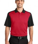 CornerStone - Select Snag-Proof Blocked Polo Style CS417 Red/Black