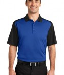 CornerStone - Select Snag-Proof Blocked Polo Style CS417 Royal/Black