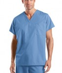 CornerStone - Reversible V-Neck Scrub Top Style CS501 Ceil Blue