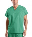 CornerStone - Reversible V-Neck Scrub Top Style CS501 Jade Green