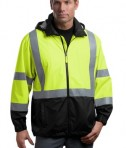 CornerStone - ANSI 107 Class 3 Safety Windbreaker Style CSJ25 Safety Yellow