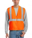 CornerStone - ANSI 107 Class 2 Safety Vest Style CSV400 Reflective Orange