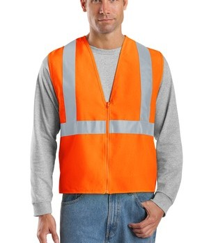 CornerStone – ANSI 107 Class 2 Safety Vest Style CSV400 Reflective Orange