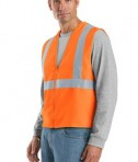 CornerStone - ANSI 107 Class 2 Safety Vest Style CSV400 Reflective Orange Angle