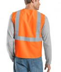 CornerStone - ANSI 107 Class 2 Safety Vest Style CSV400 Reflective Orange Back