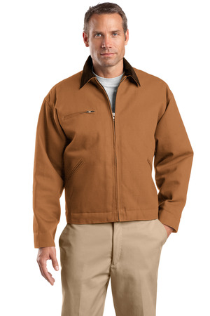 CornerStone - Duck Cloth Work Jacket Style J763 Duck Brown