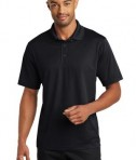 CornerStone Micropique Gripper Polo T-Shirts Black Front