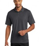 CornerStone Micropique Gripper Polo T-Shirts Iron Grey Front
