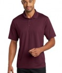 CornerStone Micropique Gripper Polo T-Shirts Maroon Front
