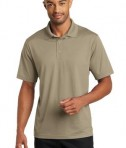 CornerStone Micropique Gripper Polo T-Shirts Tan Front