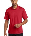 CornerStone Micropique Gripper Polo T-Shirts True Red Front