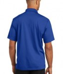 CornerStone Micropique Gripper Polo T-Shirts True Royal Back