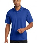 CornerStone Micropique Gripper Polo T-Shirts True Royal Front