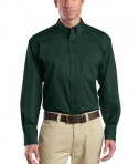 CornerStone - Long Sleeve SuperPro Twill Shirt Style SP17 Dark Green