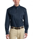 CornerStone - Long Sleeve SuperPro Twill Shirt Style SP17 Navy