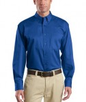 CornerStone - Long Sleeve SuperPro Twill Shirt Style SP17 Royal