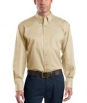 CornerStone - Long Sleeve SuperPro Twill Shirt Style SP17 Stone