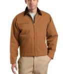 CornerStone TLJ763 Duck Cloth Work Jacket Tall Duck Brown