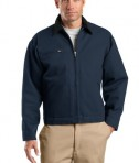 CornerStone TLJ763 Duck Cloth Work Jacket Tall Navy