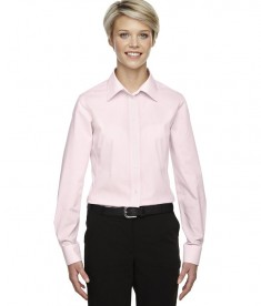 Devon & Jones Ladies' Crown Collection™ Gingham Check Pink
