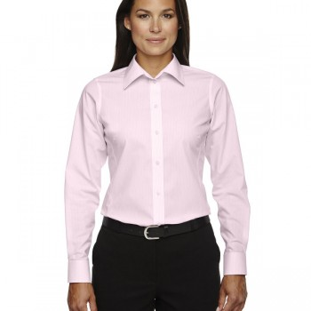 devon-&-jones-ladies-crown-collection™-banker-stripe-pink