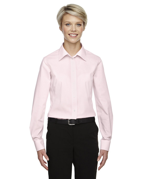 devon-&-jones-ladies-crown-collection™-gingham-check-pink