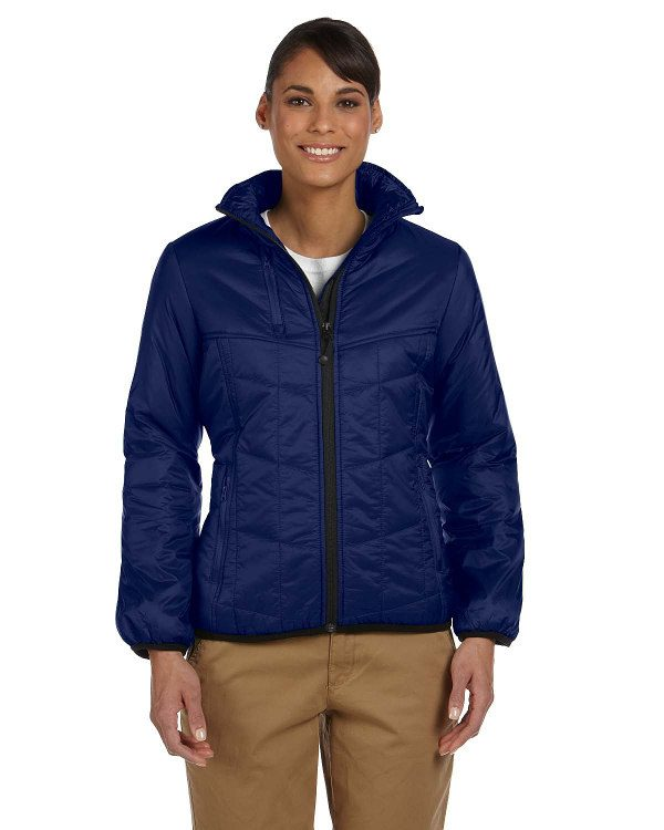 Devon & Jones Ladies' Insulated Tech-Shell® Reliant Jacket New Navy