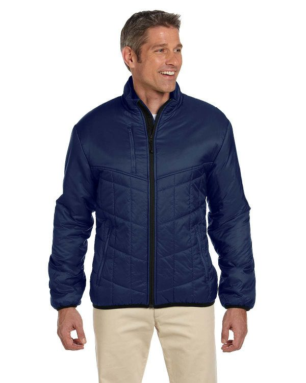 Devon & Jones Men's Insulated Tech-Shell® Reliant Jacket New Navy