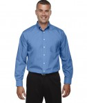 Devon & Jones Men's Tall Crown Collection™ Solid Long-Sleeve Broadcloth French Blue