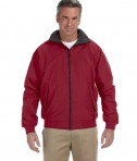 Devon & Jones Men's Three-Season Classic Jacket Crimson