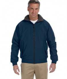 Devon & Jones Men's Three-Season Classic Jacket Navy