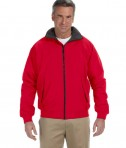 Devon & Jones Men's Three-Season Classic Jacket Red