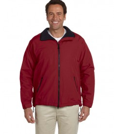 Devon & Jones Men's Three-Season Sport Jacket Burgundy