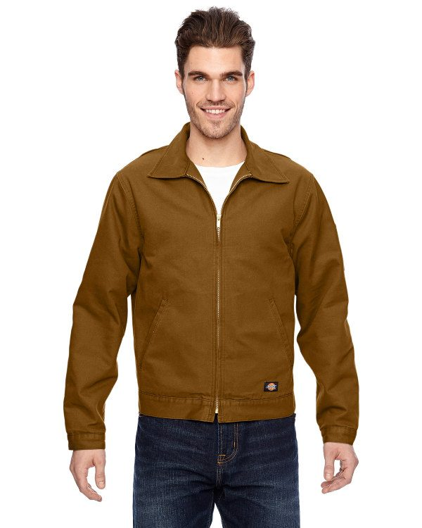 Dickies 10 oz. Industrial Duck Jacket Brown Duck
