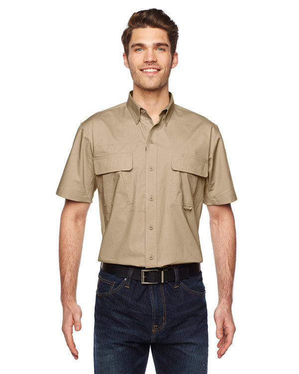 Dickies 4.5 oz. Ripstop Ventilated Tactical Shirt Desert Sand