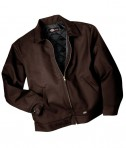 Dickies 8 oz. Lined Eisenhower Jacket Dark Brown