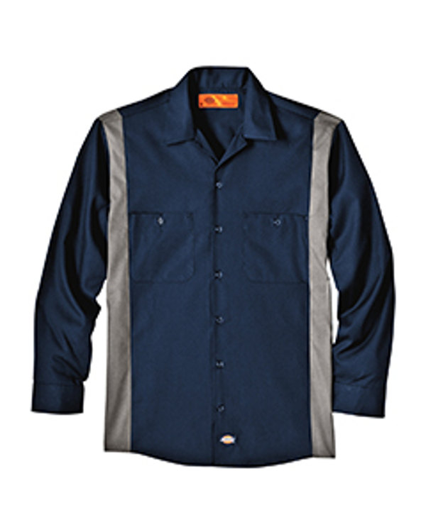 dickies-drop-ship-4.5-oz-industrial-long-sleeve-color-block-shirt-dk-navy-smoke