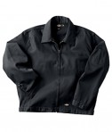 Dickies Drop Ship 7.75 oz. Unlined Eisenhower Jacket Charcoal