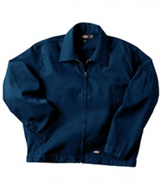 Dickies Drop Ship 7.75 oz. Unlined Eisenhower Jacket Dark Navy