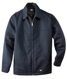 78266AL Dickies Drop Ship 8.5 oz. Hip Length Twill Jacket Dark Navy