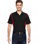 Dickies Industrial Colorblock Shirt Black/ENG Red