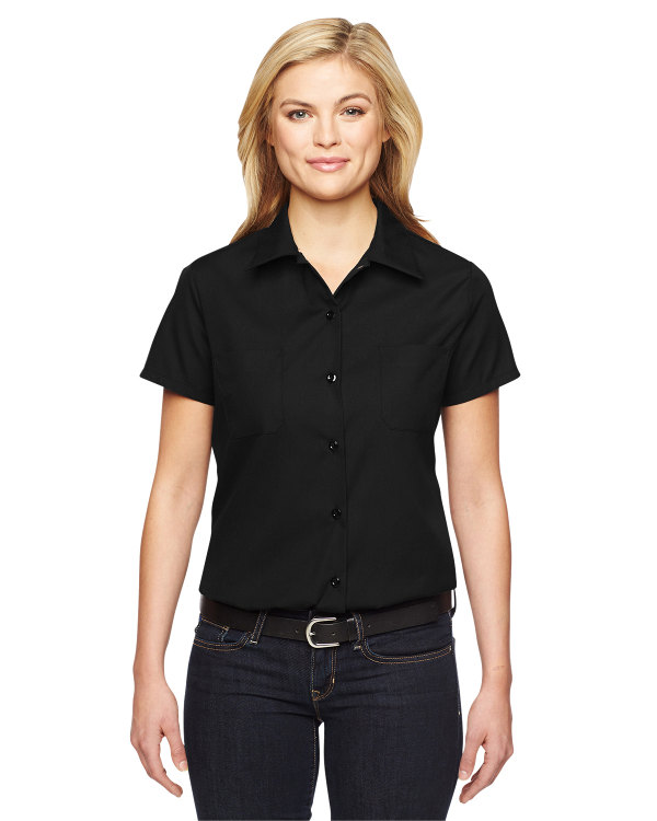 dickies-ladies-industrial-shirt-black