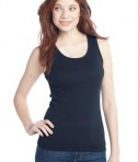 District - Juniors 2x1 Rib Tank Style DT210 New Navy