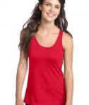 District - Juniors 60/40 Racerback Tank Style DT237 New Red