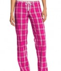 District - Juniors Flannel Plaid Pant Style DT2800 Dark Fuchsia