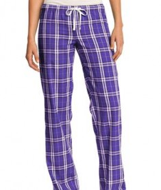 District - Juniors Flannel Plaid Pant Style DT2800 Purple