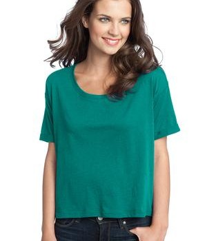 District – Juniors Modal Blend Boxy Tee Style DT281 Jade