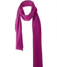 District - Cotton Blend Scarf Style DT50 Bright Berry