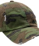 District - Distressed Cap Style DT600 Camo