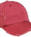 District - Distressed Cap Style DT600 Dashing Red